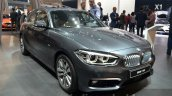 2016 BMW 1 Series front three quarters at 2015 Frankfurt Motor Show