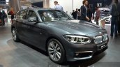 2016 BMW 1 Series front three quarters far at 2015 Frankfurt Motor Show