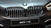 2016 BMW 1 Series grille at 2015 Frankfurt Motor Show
