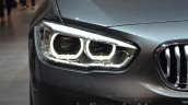 2016 BMW 1 Series headlights at 2015 Frankfurt Motor Show