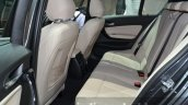 2016 BMW 1 Series rear seats at 2015 Frankfurt Motor Show