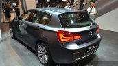 2016 BMW 1 Series rear three quarters at 2015 Frankfurt Motor Show