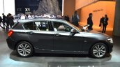 2016 BMW 1 Series side at 2015 Frankfurt Motor Show