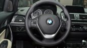 2016 BMW 1 Series steering at 2015 Frankfurt Motor Show