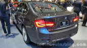 2016 BMW 3 Series rear three quarters left at 2015 Thai Motor Expo