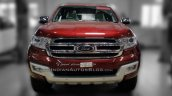 2016 Ford Endeavour 3.2L AT front snapped