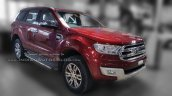 2016 Ford Endeavour 3.2L AT front three quarter snapped