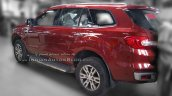 2016 Ford Endeavour 3.2L AT rear three quarter snapped