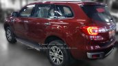 2016 Ford Endeavour 3.2L AT side snapped