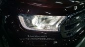 2016 Ford Endeavour 3.2L AT xenon headlamp snapped