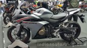 2016 Honda CBR500R grey at the 2015 Thailand Motor Expo