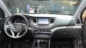 2016 Hyundai Tucson dashboard at 2015 Frankfurt Motor Show