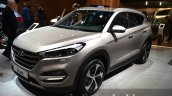 2016 Hyundai Tucson front three quarters at 2015 Frankfurt Motor Show