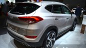 2016 Hyundai Tucson rear three quarters at 2015 Frankfurt Motor Show