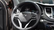 2016 Hyundai Tucson steering wheel at 2015 Frankfurt Motor Show