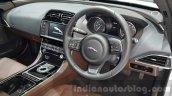 2016 Jaguar XE cabin driver view at 2015 Thai Motor Expo