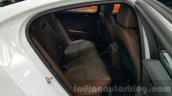 2016 Jaguar XE rear seats at 2015 Thai Motor Expo