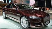 2016 Jaguar XF front three quarters at the 2015 Shanghai Auto Show