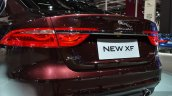 2016 Jaguar XF rear fascia at the 2015 Shanghai Auto Show