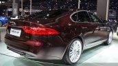 2016 Jaguar XF rear three quarters at the 2015 Shanghai Auto Show