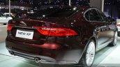 2016 Jaguar XF rear three quarters  close at the 2015 Shanghai Auto Show
