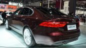 2016 Jaguar XF rear three quarters left at the 2015 Shanghai Auto Show