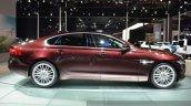 2016 Jaguar XF side at the 2015 Shanghai Auto Show