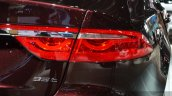 2016 Jaguar XF tail lights at the 2015 Shanghai Auto Show