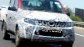 2016 Mahindra Genio (facelift) spied front quarter