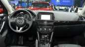 2016 Mazda CX-5 dashboard at the 2015 Shanghai Auto Show