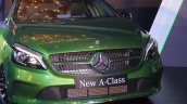2016 Mercedes Benz A class front grille launch