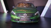 2016 Mercedes Benz A class front launch