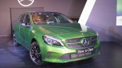 2016 Mercedes Benz A class front quarter launch