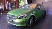 2016 Mercedes Benz A class front three quarter launch