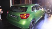 2016 Mercedes Benz A class rear quarter launch