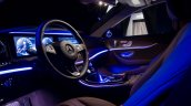 2016 Mercedes E Class interior ambient lighting unveiled