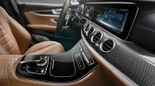 2016 Mercedes E Class interior dashboard unveiled