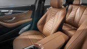 2016 Mercedes E Class interior passenger seats unveiled
