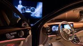 2016 Mercedes E Class interior test mule unveiled