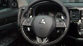 2016 Mitsubishi Outlander steering wheel at 2015 Frankfurt Motor Show