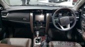 2016 Toyota Fortuner dashboard at 2015 Thailand Motor Expo