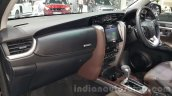 2016 Toyota Fortuner dashboard trims at 2015 Thailand Motor Expo