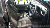 2016 Toyota Fortuner front seats at 2015 Thailand Motor Expo