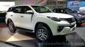 2016 Toyota Fortuner front three quarter at 2015 Thailand Motor Expo