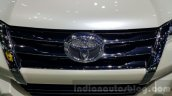 2016 Toyota Fortuner grille at 2015 Thailand Motor Expo