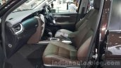 2016 Toyota Fortuner seat upholstery at 2015 Thailand Motor Expo
