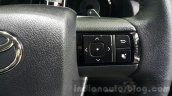 2016 Toyota Fortuner steering buttons right at 2015 Thailand Motor Expo
