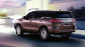 2016 Toyota SW4 (Fortuner) rear three quarter launched in Argentina