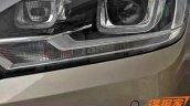 2016 VW Bora headlamp spy shot