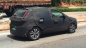 2017 Fiat Punto rear quarter spied in Brazil